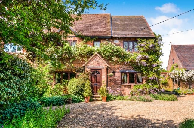 Thumbnail Semi-detached house for sale in Fosse Way, Hunningham Hill, Hunningham, Warwickshire