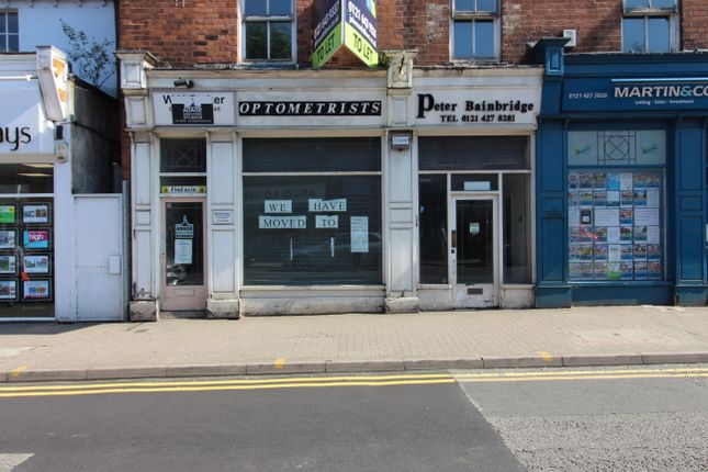Thumbnail Retail premises to let in High Street, Harborne, Birmingham