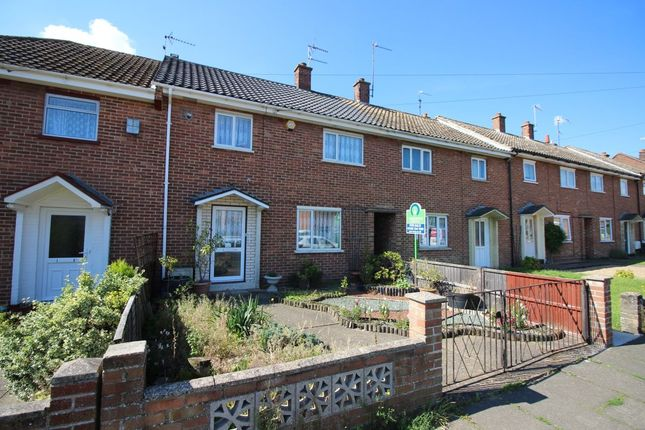 3 bed terraced house for sale in Mimosa Walk, Lowestoft