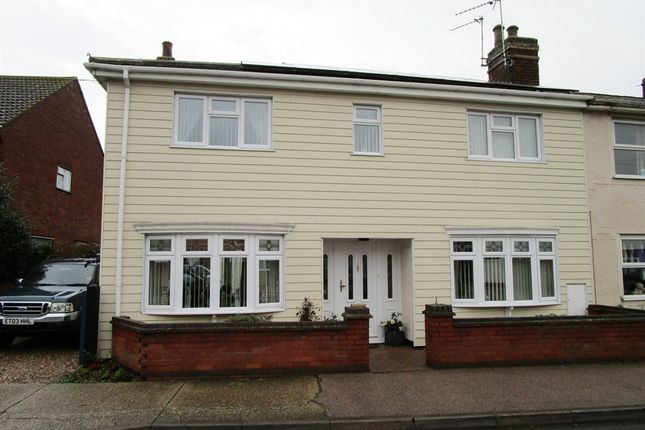 Thumbnail End terrace house for sale in Bromley Road, Colchester