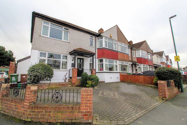 Thumbnail End terrace house for sale in Dorchester Avenue, Bexley