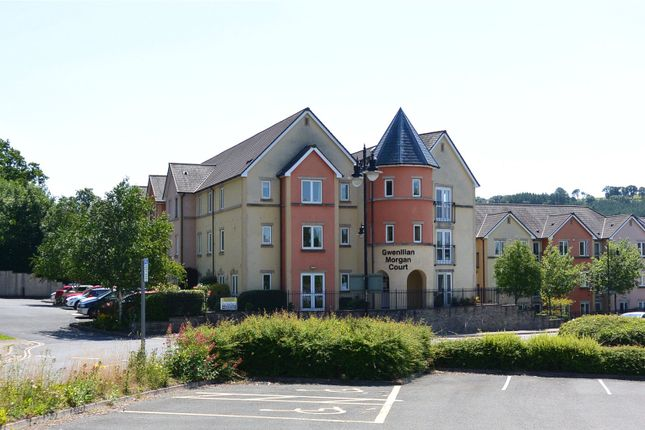 Thumbnail Flat for sale in Gwenllian Morgan Court, Heol Gouesnou, Brecon, Powys