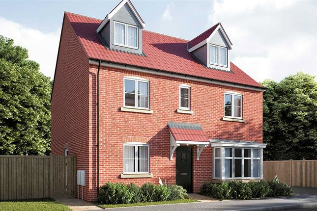 Thumbnail Detached house for sale in Strawberry Fields, Great Yeldham, Suffolk