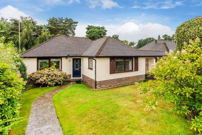 Thumbnail Detached bungalow for sale in Paddock Way, Hurst Green, Oxted