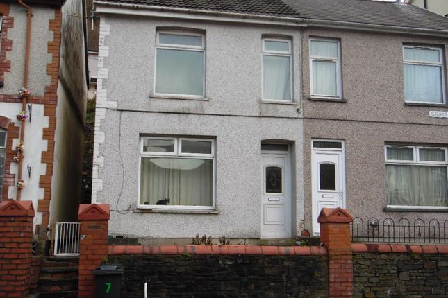 Thumbnail Semi-detached house to rent in Greys Place, Merthyr Vale, Merthyr Tydfil