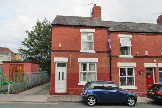 Thumbnail End terrace house to rent in Cherry Road, Chester