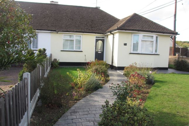 Thumbnail Semi-detached bungalow to rent in Plumberow Avenue, Hockley