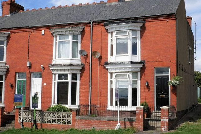 Thumbnail End terrace house for sale in Durham Road, Bishop Auckland