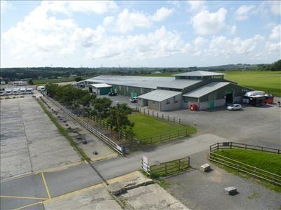 Thumbnail Land to let in Unit 1, Carew Airfield Business Park, Sageston, Pembroke, Pembrokeshire