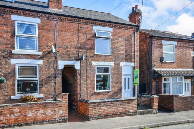 Thumbnail End terrace house for sale in Franklin Road, Jacksdale, Nottingham