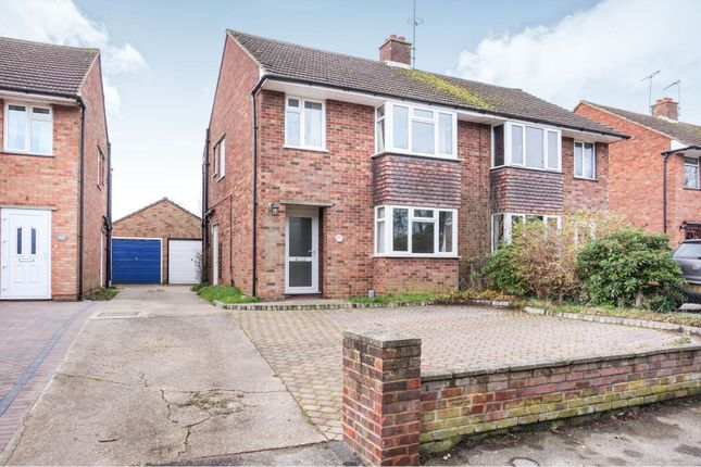 Thumbnail Semi-detached house for sale in Humber Doucy Lane, Ipswich