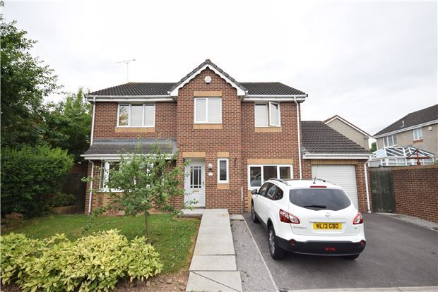 Thumbnail Detached house for sale in Bampton Close, Emersons Green, Bristol
