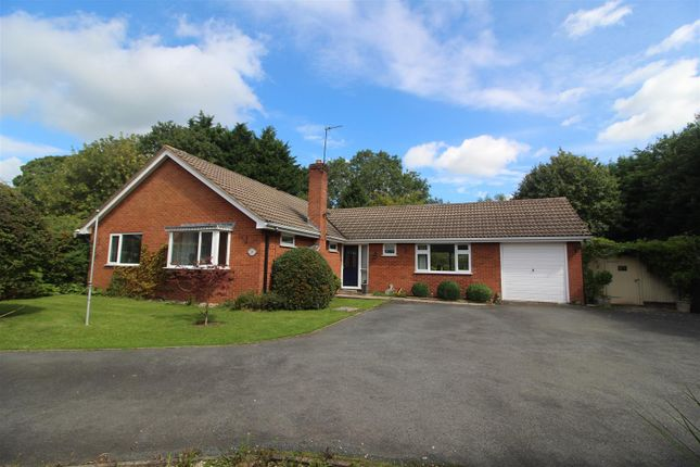 Thumbnail Detached bungalow for sale in Eckford Park, Wem, Shrewsbury