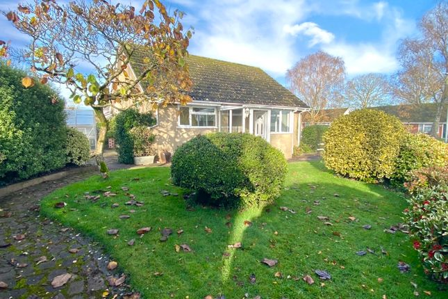 Thumbnail Semi-detached bungalow for sale in Glebelands, Lympstone, Exmouth