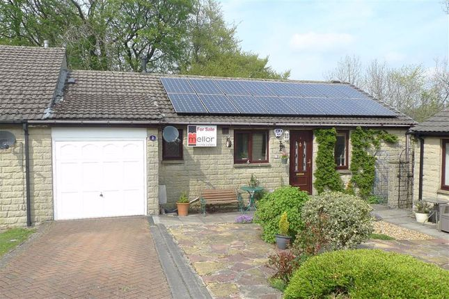 Thumbnail Semi-detached bungalow for sale in Silverlands Close, Buxton, Derbyshire