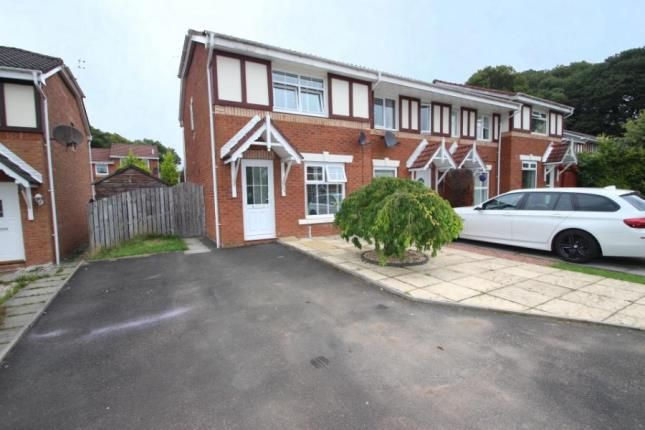 Thumbnail End terrace house for sale in Ross Drive, Airdrie, North Lanarkshire