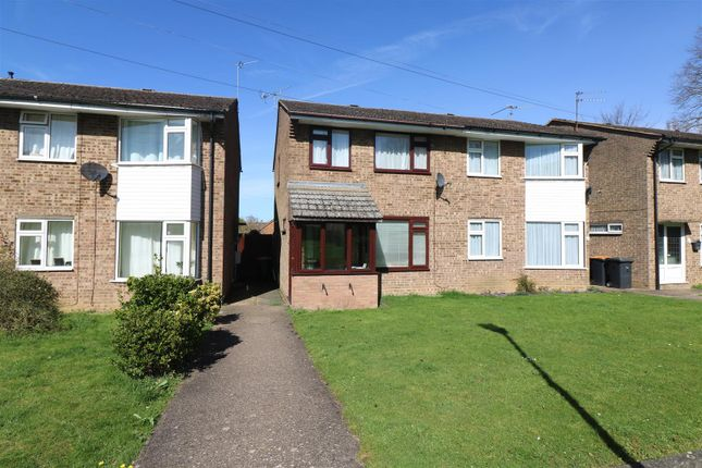 Thumbnail Semi-detached house for sale in Chestnut Close, Wymington, North Beds