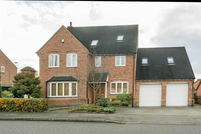 Thumbnail Detached house for sale in Gresley Wood Road, Swadlincote