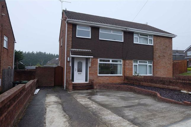 Thumbnail Semi-detached house to rent in Sandringham Close, Barry, Vale Of Glamorgan