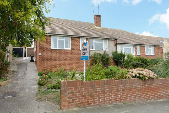 Thumbnail Semi-detached bungalow for sale in The Ridgeway, Broadstairs