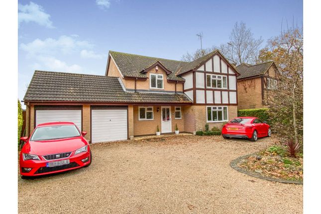 5 bed detached house for sale in Greys Drive, Groby, Leicester LE6