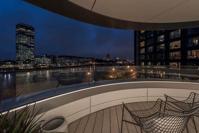 Thumbnail Flat for sale in The Corniche, 20 Albert Embankment, London