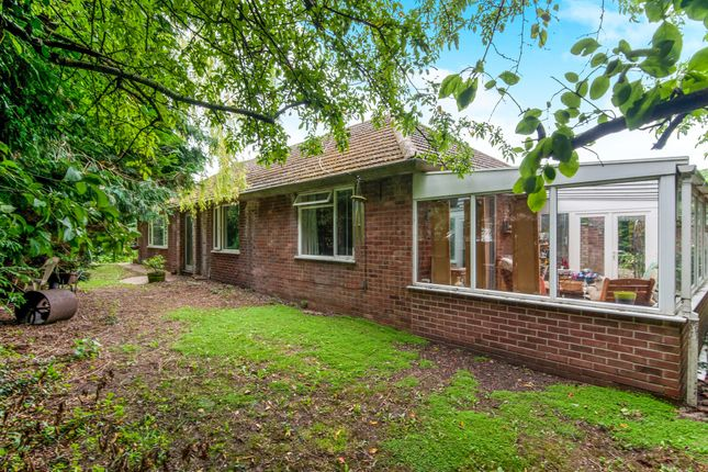 Thumbnail Detached bungalow for sale in Brecklands, Mundford, Thetford