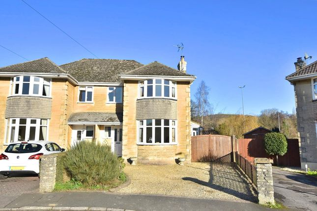 Thumbnail Semi-detached house for sale in Grosvenor Park, Bath, Somerset