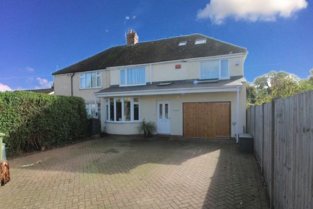 Thumbnail Semi-detached house for sale in Wolverton Road, Newport Pagnell, Buckinghamshire