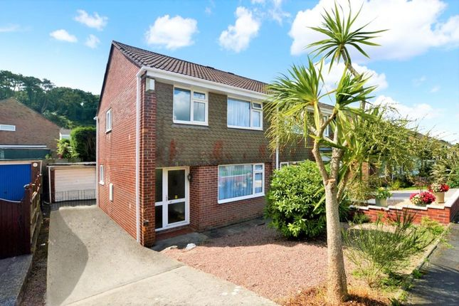 Thumbnail Semi-detached house for sale in Canefields Avenue, Plymouth, Devon