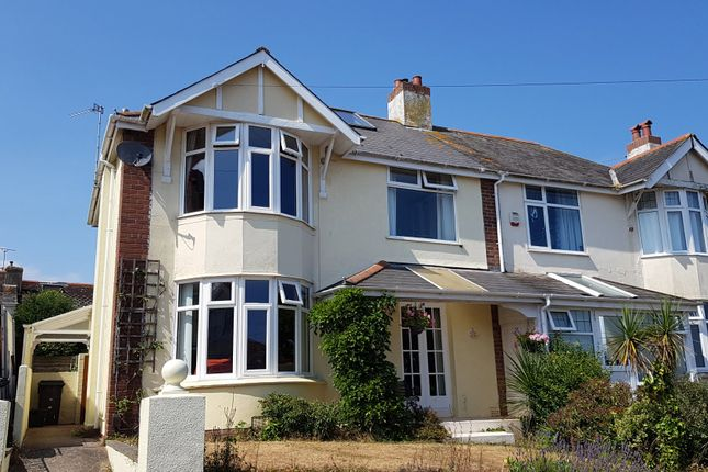 Thumbnail Semi-detached house for sale in Hillside Road, Paignton