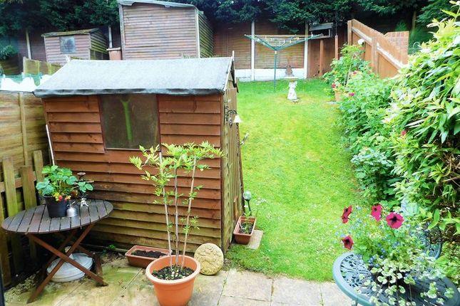 Rear Garden of Sandpiper Close, Hednesford, Cannock WS12