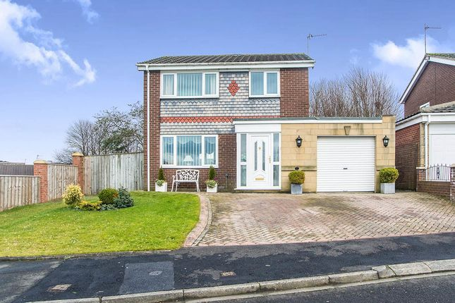 Thumbnail Detached house for sale in Killin Close, Chapel Park, Newcastle Upon Tyne