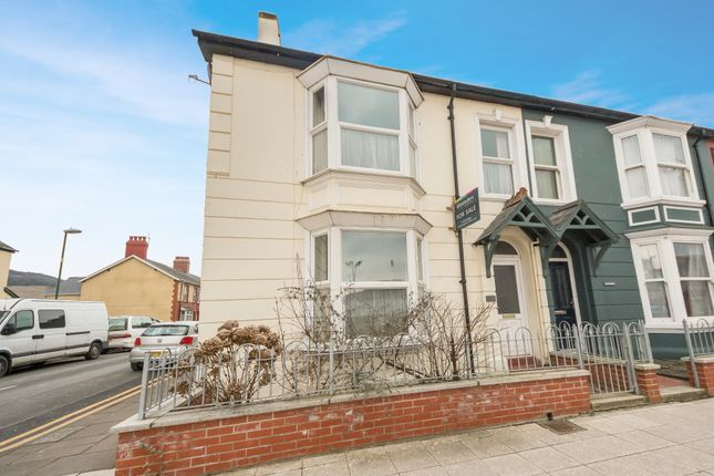 Thumbnail End terrace house for sale in Park Avenue, Aberystwyth