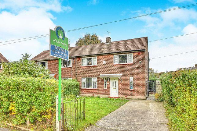 Thumbnail Semi-detached house for sale in Oban Drive, Blackburn