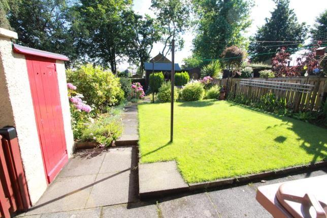 Garden of Lundin Crescent, Glenrothes, Fife KY7