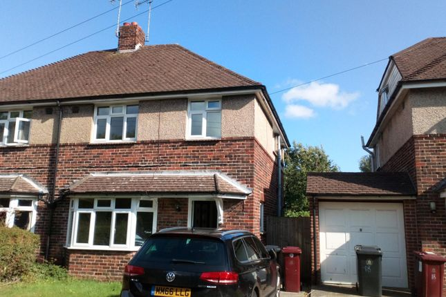 Thumbnail Semi-detached house to rent in Bridge Road, Chichester