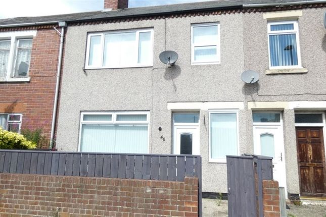 Thumbnail Terraced house to rent in Castle Terrace, Ashington