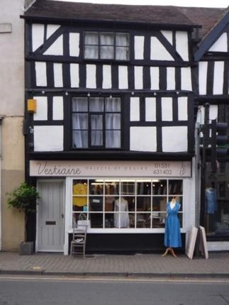 Thumbnail Retail premises to let in Ground Floor Retail Premises, The Southend, Ledbury, Herefordshire