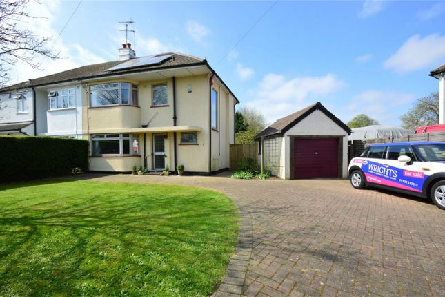 Thumbnail Semi-detached house for sale in Ellenbrook Lane, Hatfield, Hertfordshire