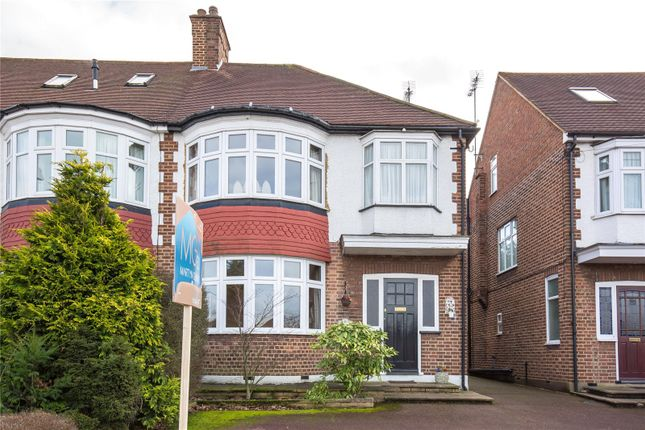 Thumbnail Semi-detached house for sale in Winchmore Hill Road, Winchmore Hill