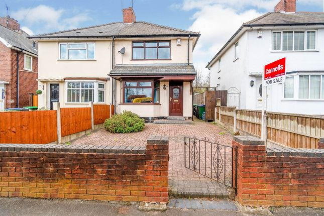 2 bed semi-detached house for sale in Crew Road, Wednesbury WS10