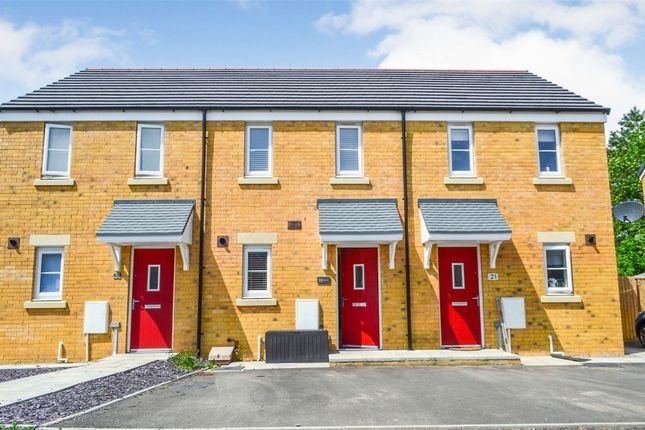 Thumbnail Terraced house for sale in Cilgant Y Lein, Pyle, Bridgend, Mid Glamorgan