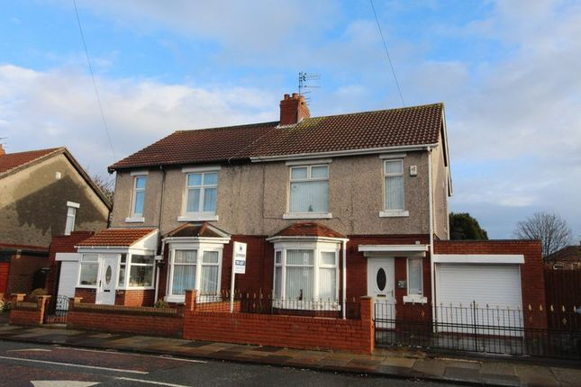 Thumbnail Semi-detached house to rent in Newsham Road, Blyth