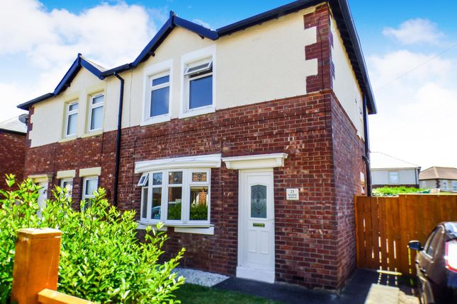 Thumbnail Semi-detached house to rent in Fourth Avenue, Morpeth