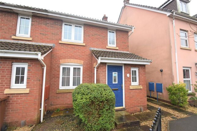 Thumbnail Semi-detached house to rent in Oakfields, Tiverton, Devon