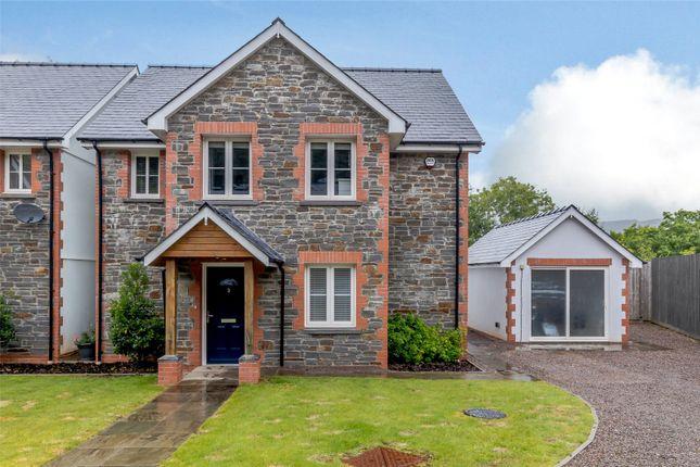 Thumbnail Detached house for sale in Crib Y Lan, Gwaelod-Y-Garth, Cardiff