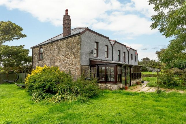 Thumbnail Detached house for sale in Croft Mitchell, Troon, Camborne, Cornwall