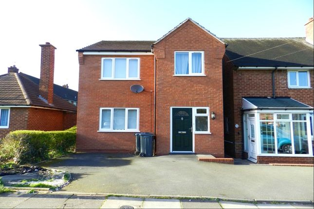Thumbnail Detached house for sale in Freasley Road, Shard End, Birmingham