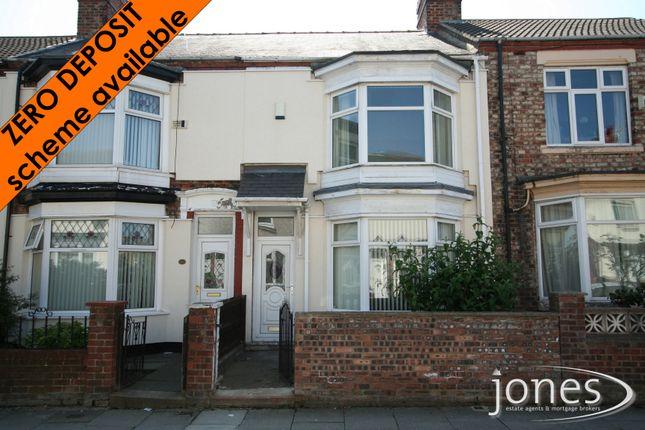 Thumbnail Terraced house to rent in Lambton Road, Stockton On Tees